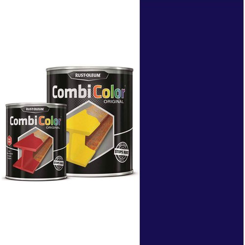 Rust Oleum RUST-OLEUM 7328.0.75 Combicolor Original, Superior Metal Protection, Direct To Rust, Ultramarine blue -RAL 5002