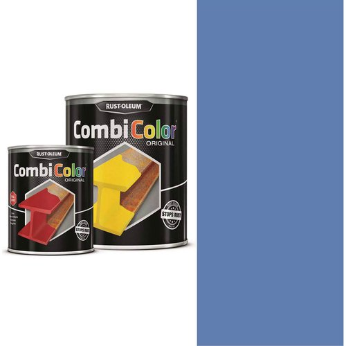 Rust Oleum RUST-OLEUM 7329.0.75 Combicolor Original, Superior Metal Protection, Direct To Rust, Steel blue -RAL 5011