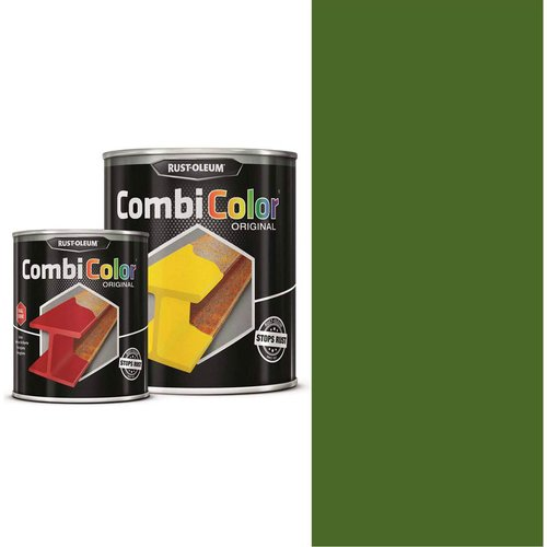 Rust Oleum RUST-OLEUM 7334.0.75 Combicolor Original, Superior Metal Protection, Direct To Rust, Grass green -RAL 6010