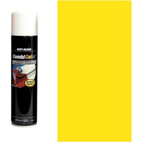 Rust Oleum Rust Oleum CombiColor Metal Spray Paint Light Yellow 400ml