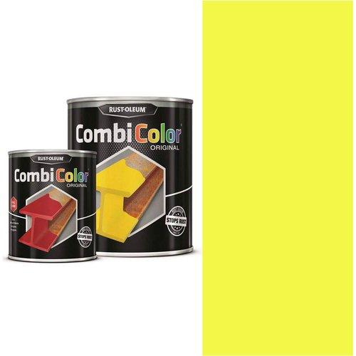 Rust Oleum RUST-OLEUM 7343.2.5 Combicolor Original, Superior Metal Protection, Direct To Rust, Light yellow-RAL 1018
