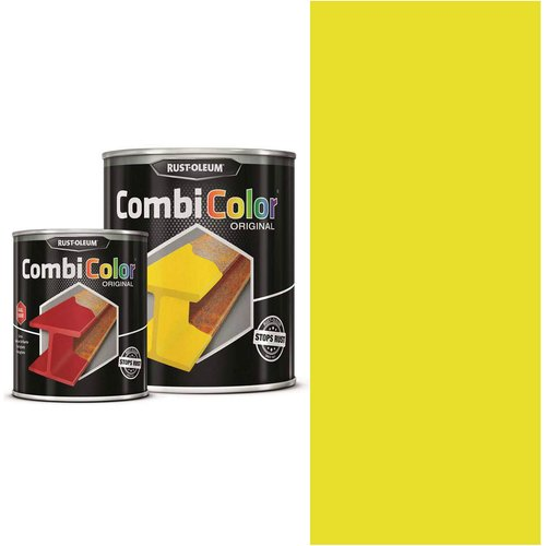 Rust Oleum RUST-OLEUM 7346.0.75 Combicolor Original, Superior Metal Protection, Direct To Rust, Coleseed yellow -RAL 1021