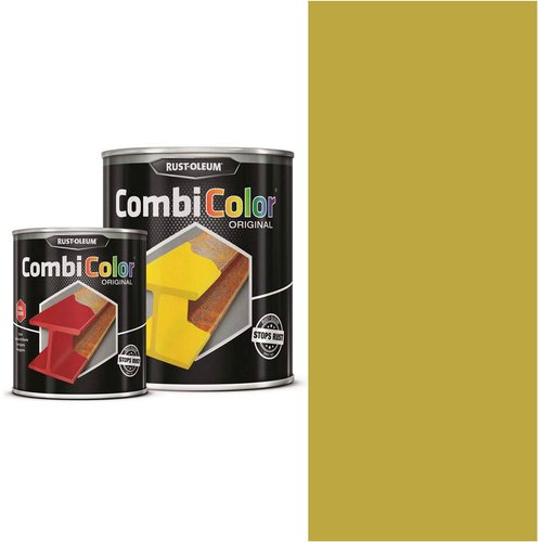 Rust Oleum RUST-OLEUM 7349.2.5 Combicolor Original, Superior Metal Protection, Direct To Rust, Golden yellow -RAL 1004