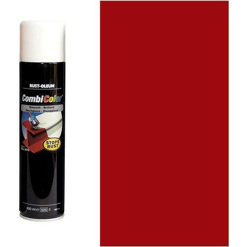 Rust Oleum RUST-OLEUM 7365.0.4 Combicolor Original Aerosols, Superior Metal Protection, Direct To Rust, Bright red -RAL 3000