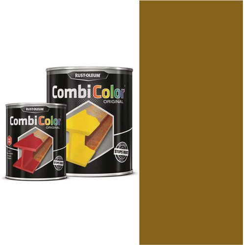 Rust Oleum RUST-OLEUM 7373.2.5 Combicolor Original, Superior Metal Protection, Direct To Rust, Ochre brown -RAL 8001