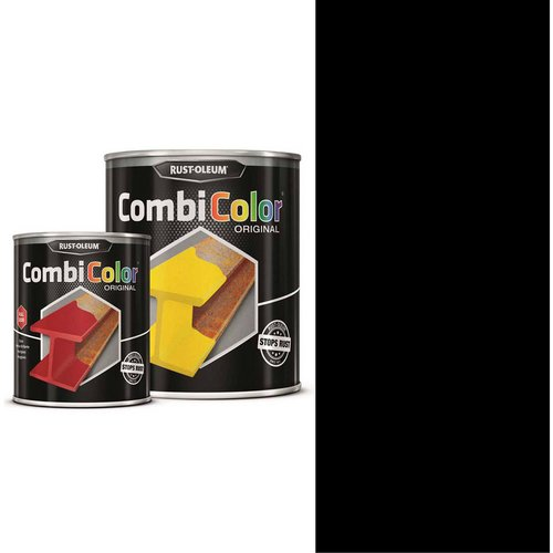 Rust Oleum RUST-OLEUM 7379.2.5 Combicolor Original, Superior Metal Protection, Direct To Rust, Black-RAL 9005