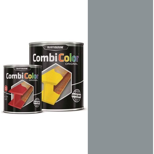 Rust Oleum RUST-OLEUM 7382.0.75 Combicolor Original, Superior Metal Protection, Direct To Rust, Steel grey-RAL 7001