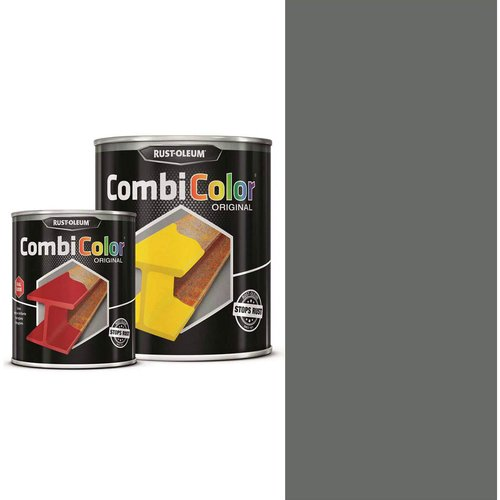 Rust Oleum Rust Oleum CombiColor Metal Protection Paint Navy Grey 750ml