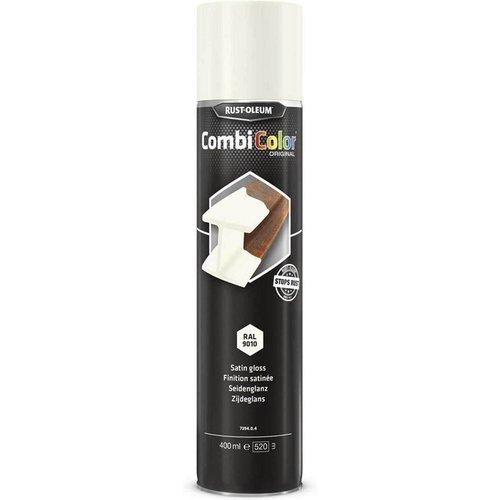 Rust Oleum RUST-OLEUM 7394.0.4 Combicolor Original Aerosols, Superior Metal Protection, Direct To Rust, Satin white -RAL 9010
