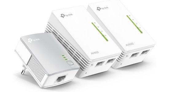 TP-LINK TL-PA4010 + 2x TL-WPA4220 500 Mbit/s Collegamento ethernet LAN