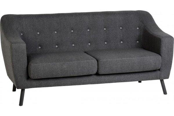Ashley 3 Seater Sofa In Dark Grey Fabric