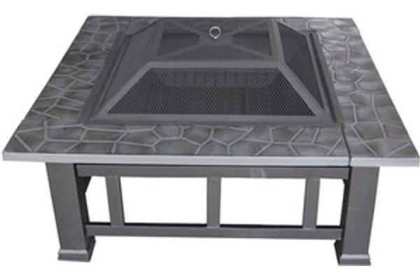 Heatsure Firepit Outdoor Garden Patio Heater Black
