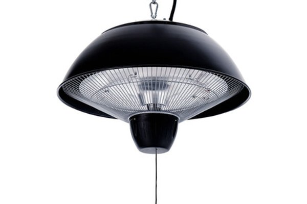 Ceiling Electric Patio Heater Black