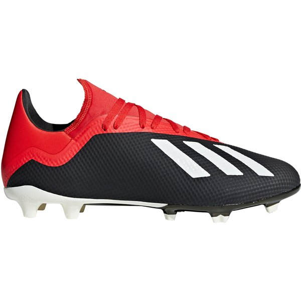 adidas X 18.3 Mens FG Football Boots in Black