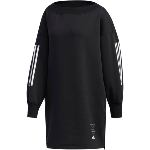 adidas Damen Sweatshirt ID Longsleeve, schwarz, XS