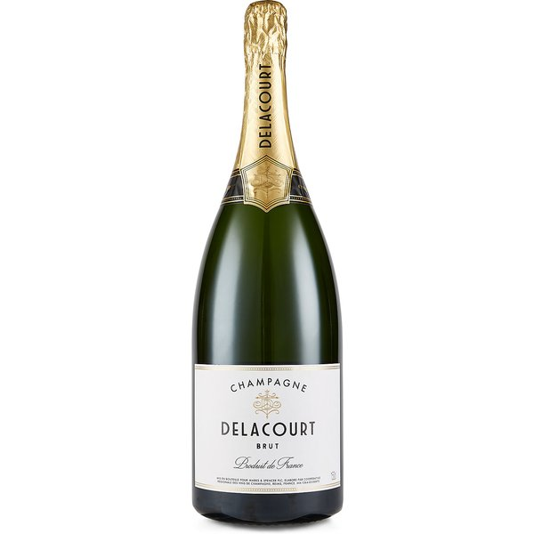 Champagne Delacourt Brut Magnum - Single Bottle