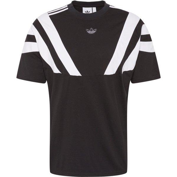 ADIDAS ORIGINALS T-Shirt 'Blunt 96' schwarz / weiß