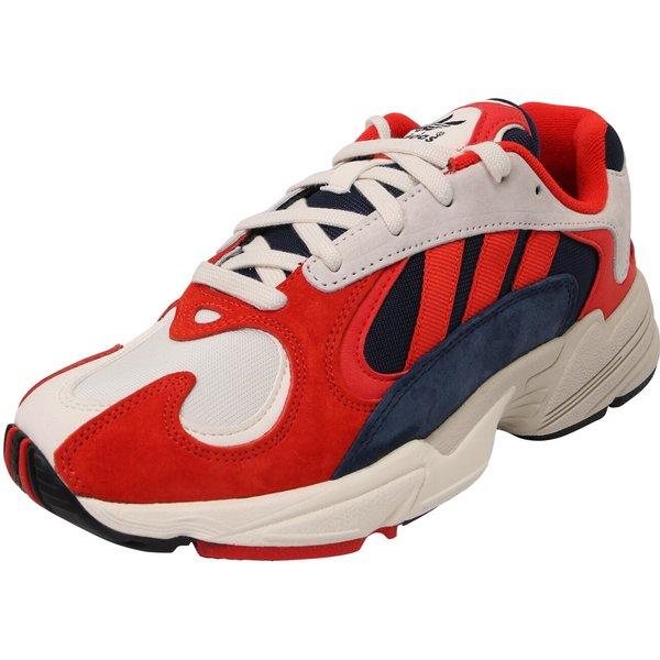 adidas Originals Yung-1 Trainer - Red - Size - 8.5