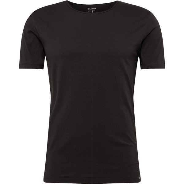 OLYMP Level Five Casual T-shirt, body fit, Schwarz, L