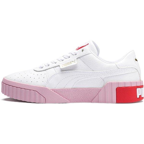 PUMA Cali Sneakers Low weiß Modell 3 Damen Gr. 38