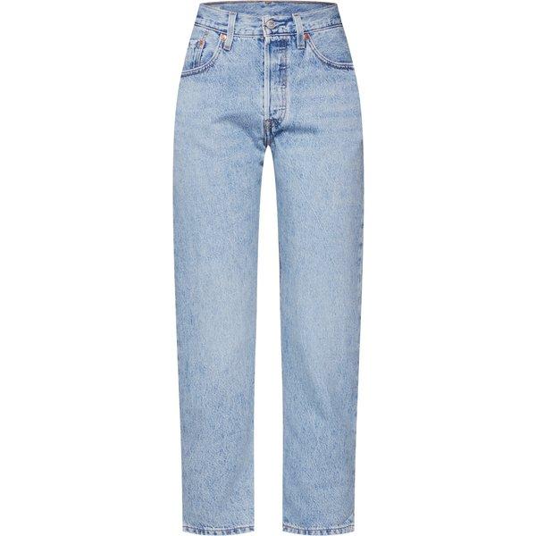 LEVI'S Jeans '501® CROP' blue denim