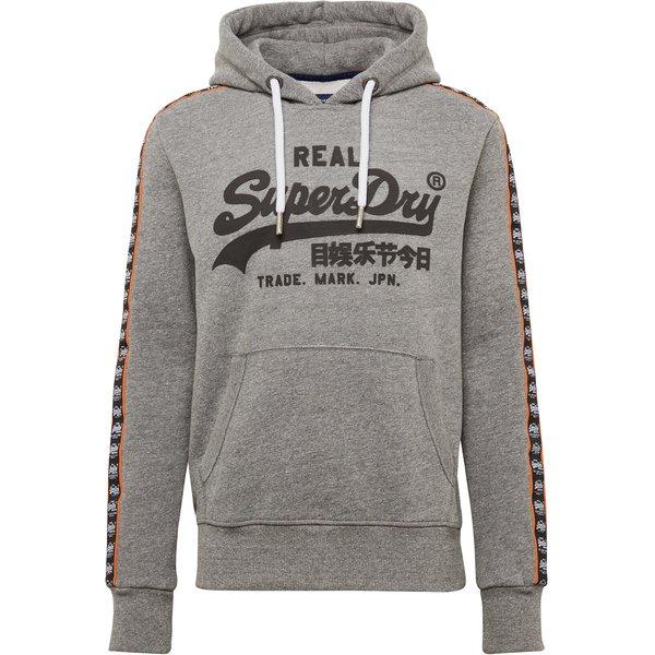 SUPERDRY sweatshirt Sweatshirts schwarz Herren Gr. 40