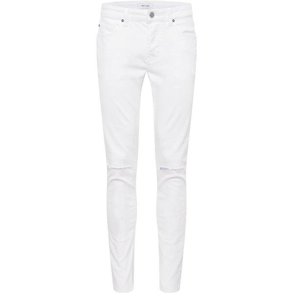 Jean 'WARP CROP KNEE CUT WHITE PK 3316 UTD (22013316)