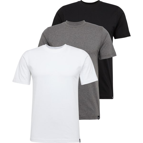 Dickies - Dickies Multi Color Pack Of 3 White/Grey/Black - - T-Shirts