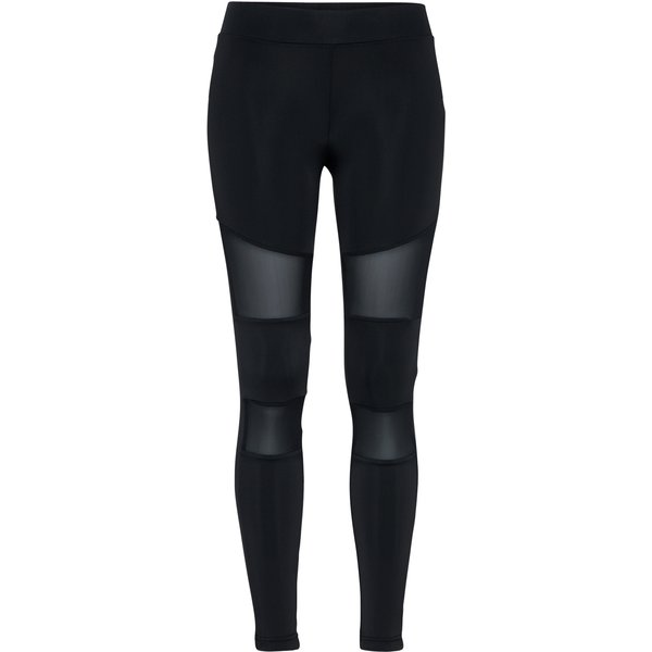 Urban Classics - Ladies Tech Mesh Leggings - Leggings - black