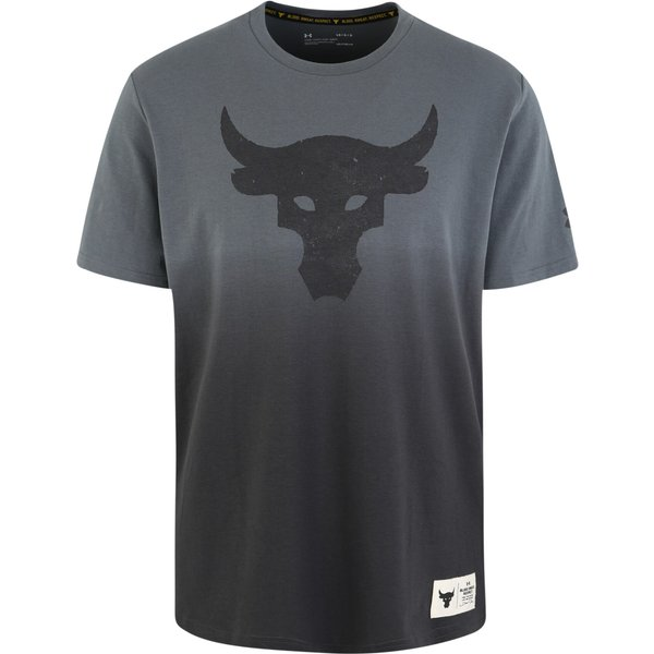 Under Armour Project Rock Bull Graphic SS Herren ( Blau L)