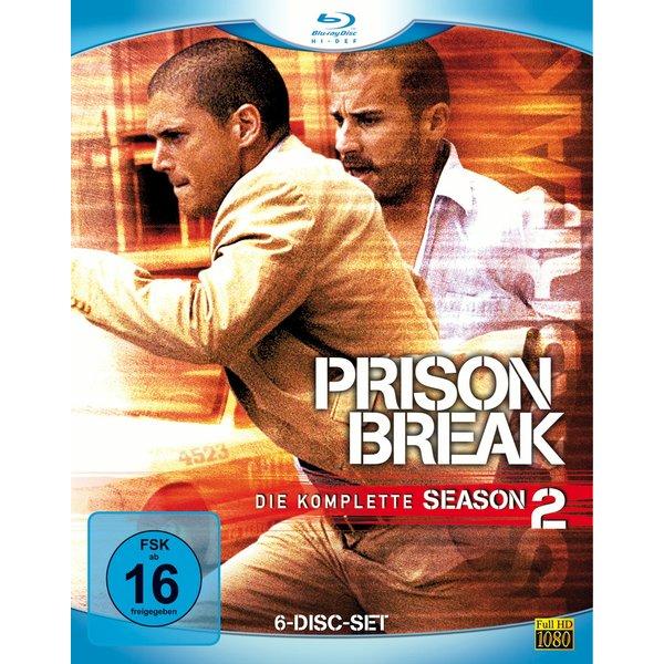 Prison Break - Staffel 2 (6 Blu-rays)
