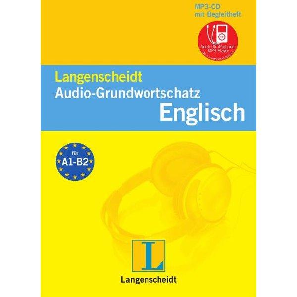 Langenscheidt Audio-Grundwortschatz Englisch, 1 MP3-CD