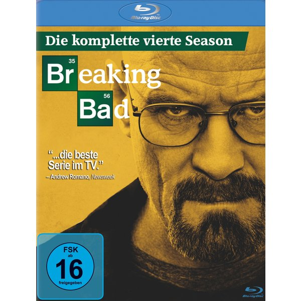 Breaking Bad - Staffel 4 (3 Blu-rays) (425202)