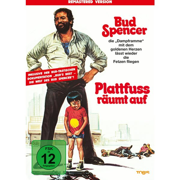 Bud Spencer - Plattfuss räumt auf (Remastered Version)