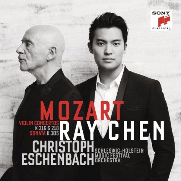 Ray Chen - Mozart: Violin Concertos & Sonata (Music CD)