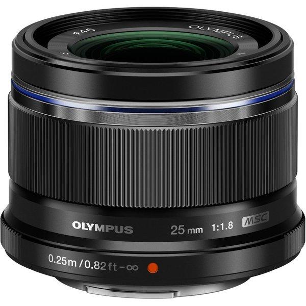 Olympus M.Zuiko Digital 25mm 1:1.8 Lens inc Lens Hood ES-M2518 Black