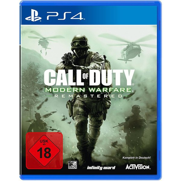 PS4 - Cod Modern Warfare Remastered /D