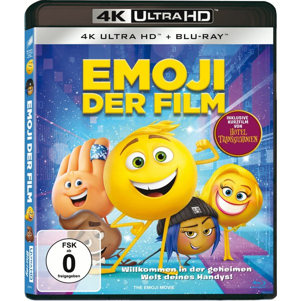 Emoji - Der Film (4K Ultra HD) (+ Blu-ray)