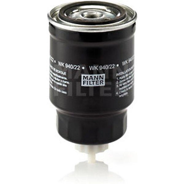 MANN-FILTER - Filtre à carburant (WK 940/22)
