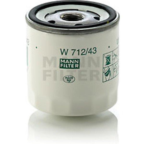 MANN-FILTER - Filtre à huile (W 712/43)