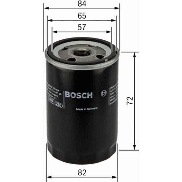 BOSCH - Filtre à huile