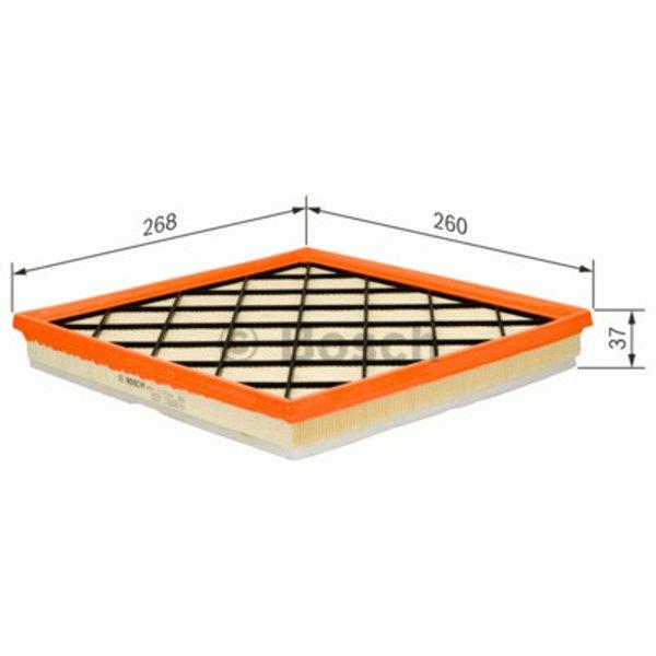 BOSCH - Filtre à air (F 026 400 217)