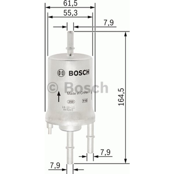 BOSCH - Filtre à carburant (F 026 403 013)