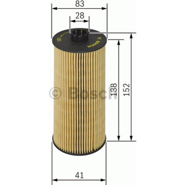 BOSCH - Filtre à huile (F 026 407 040)