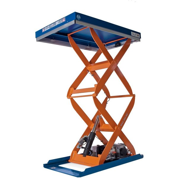 Doppelscheren-Hubtisch EdmoLift® C-Serie, TK 200 kg, Plattform à 900 x 600 mm