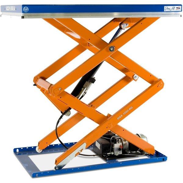 Doppelscheren-Hubtisch EdmoLift® T-Serie, TK 1.000 kg, Plattform à 1.300 x 800 mm