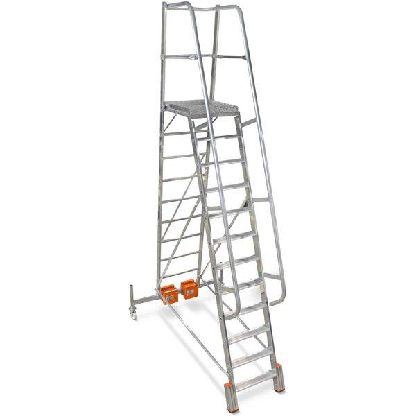 KRAUSE® Plattformleiter Vario, Ballastierung 20 kg, Standhöhe 1,90 m