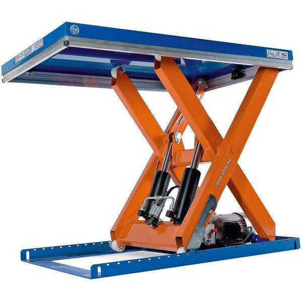 Scheren-Hubtisch EdmoLift® T-Serie, TK 2.000 kg, Plattform à 1.300 x 800 mm