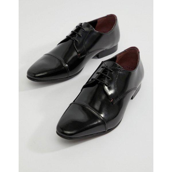 e5e7a9e899 Walk London - City - Scarpe stringate nere con punta rinforzata -