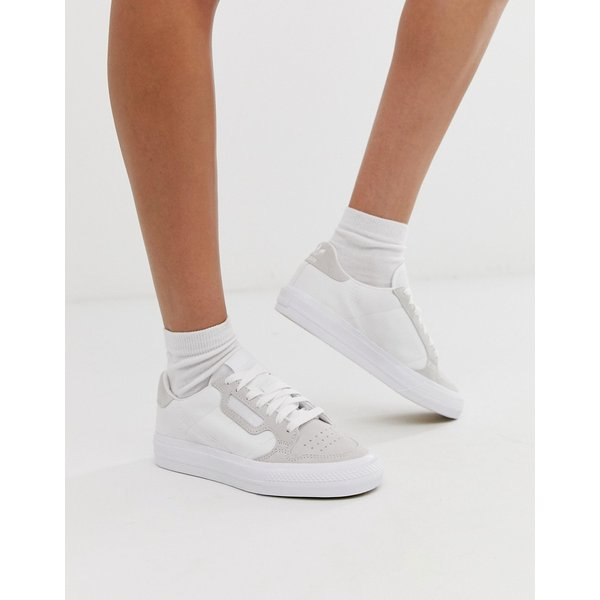 adidas Originals – Continental 80 Vulc – Weiße Sneaker